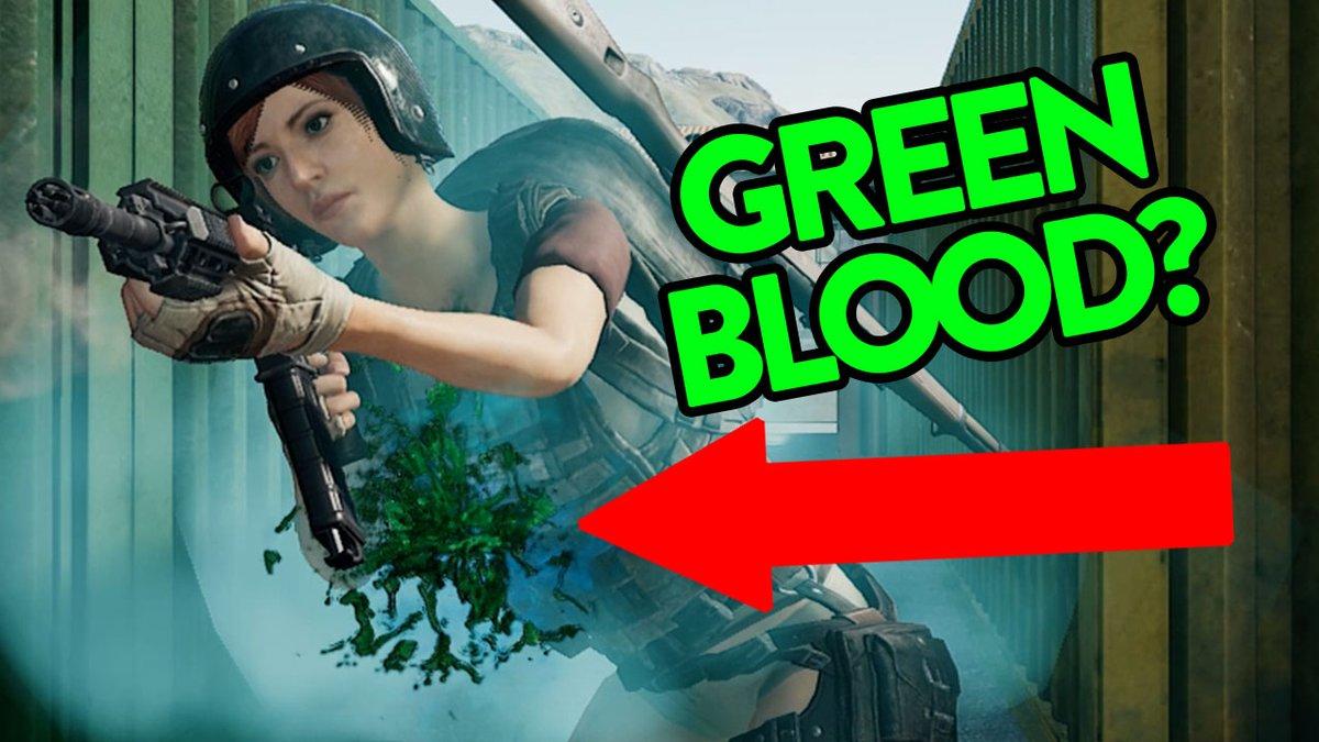 Как сделать зеленую кровь в PUBG, как поменять цвет крови в ПУБГ