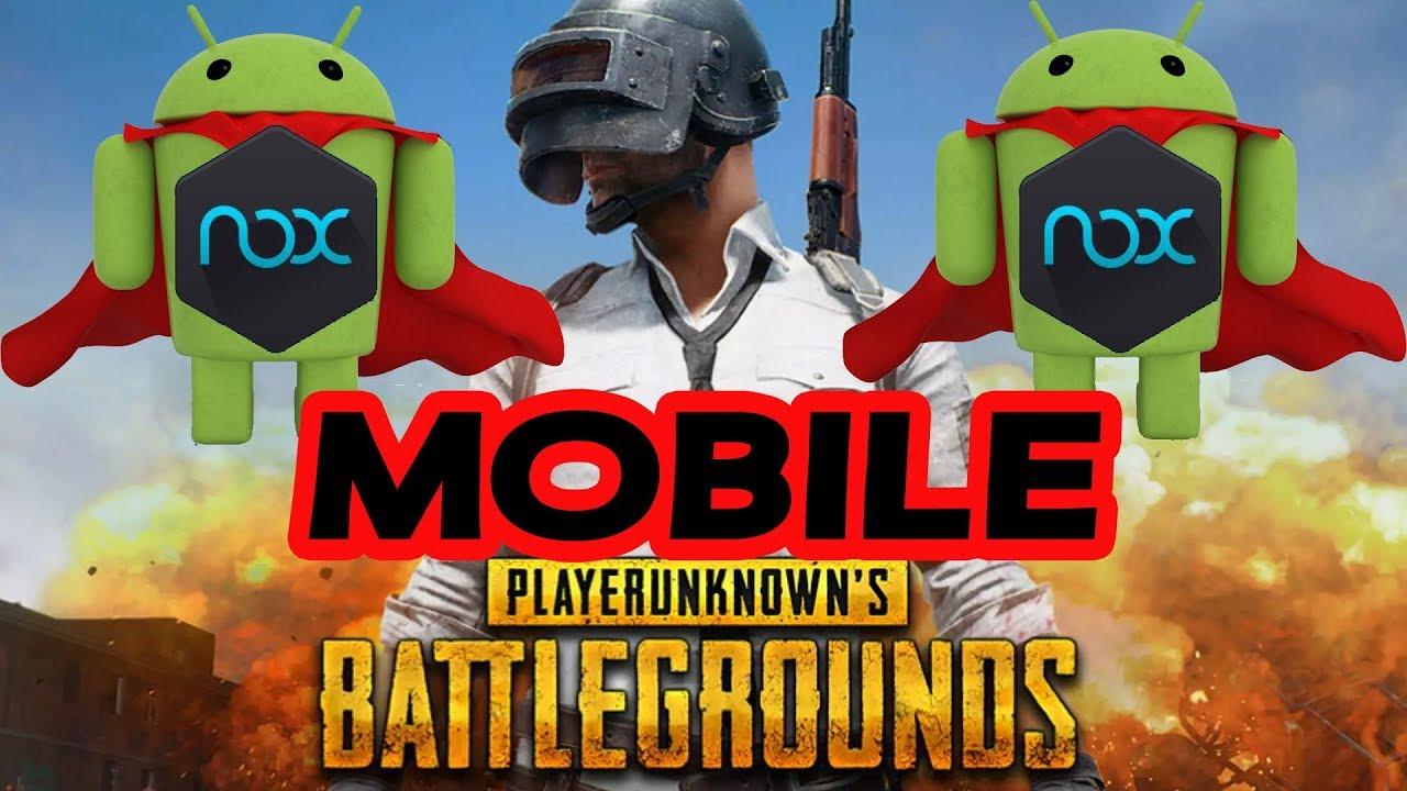 Как настроить nox для pubg mobile
