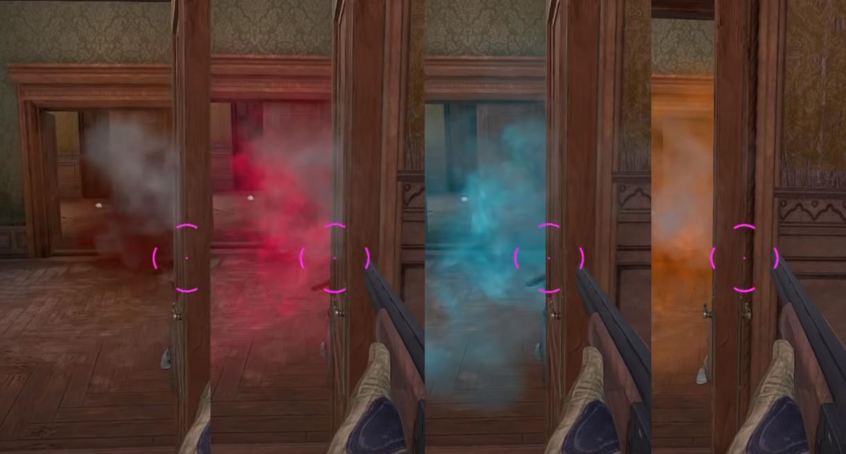 Как изменить цвет прицела в пубг