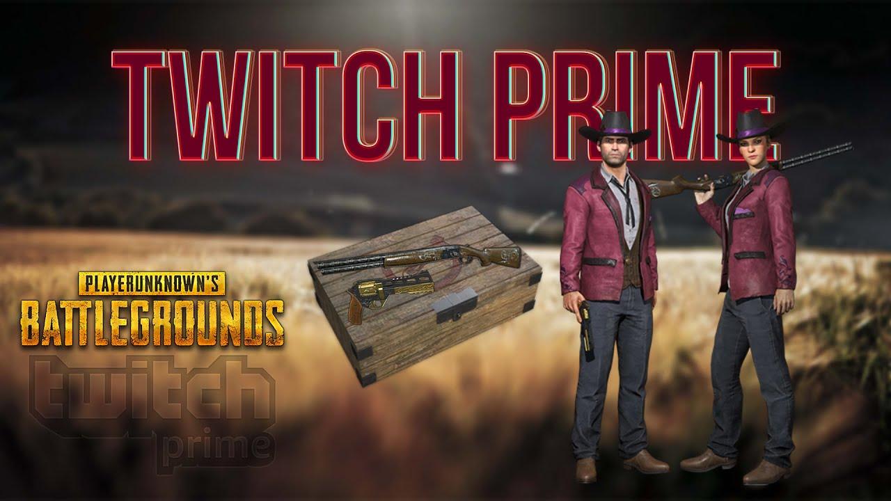 Как получить Twitch Prime в PUBG