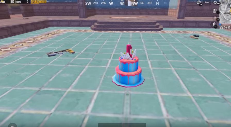 торт в пубг мобайл