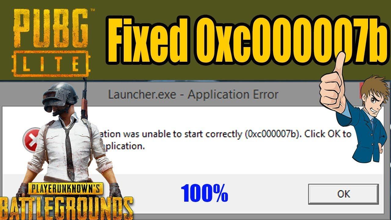 Как исправить ошибку «0xc000007b» в PUBG LITE